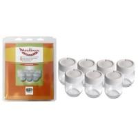 Vasos para yogurtera Moulinex Yogurta, Yogurteo
