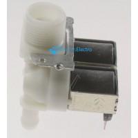 Electroválvula lavadora universal 2 Vías 180° Ø:12 mm