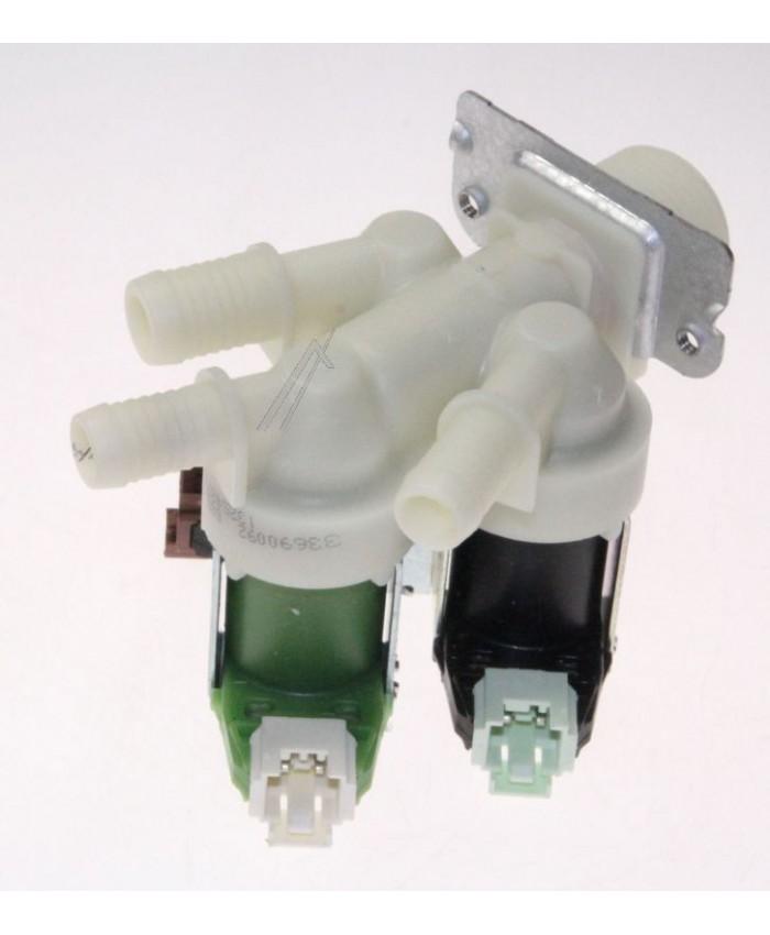Electrovávula de 3 vías para lavadora Zanussi, Electrolux