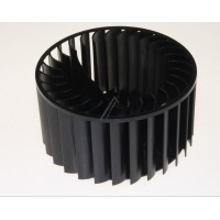 Turbina del ventilador para secadora Whirlpool, Bauknecht, Ignis