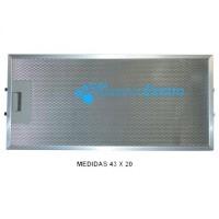 Filtro de aluminio para campana Edesa, Fagor