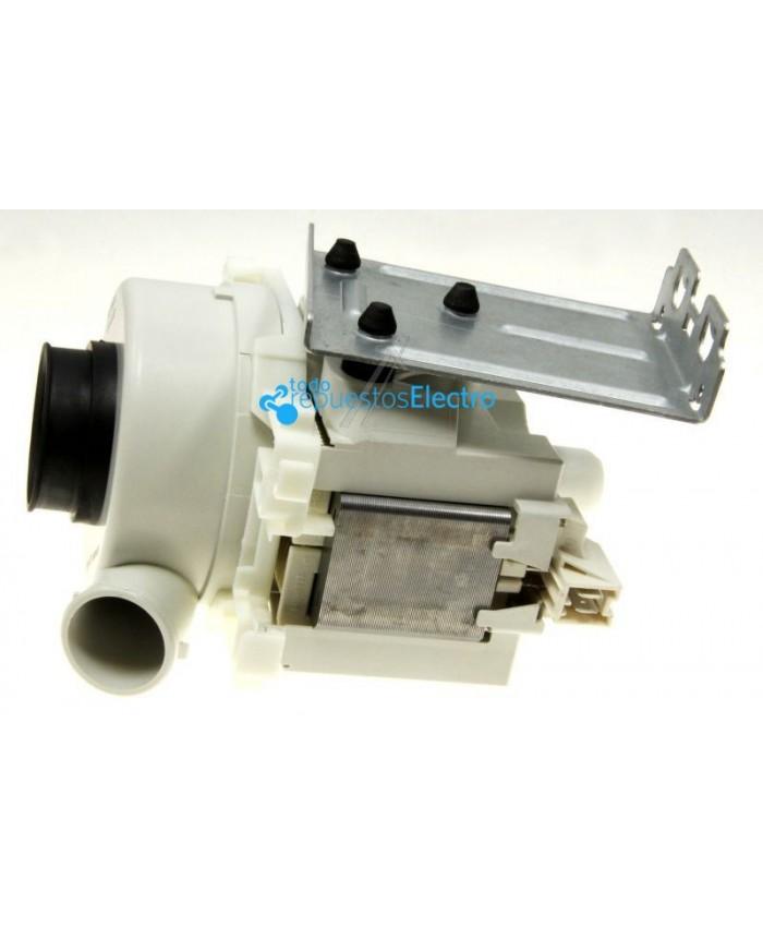 Motor de lavado para lavavajillas Whirlpool, Bauknecht, Ignis