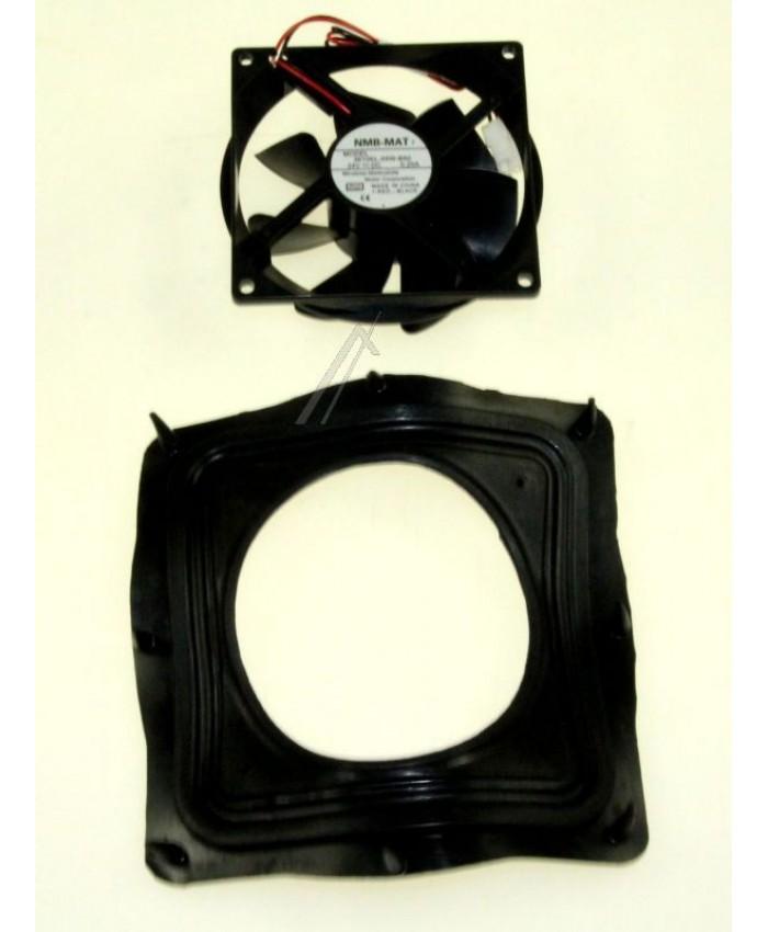 Motor ventilador completo para frigorífico Whirlpool, Bauknecht