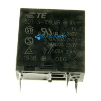 Relé 9VDC 10A-250VAC 1 contacto