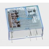 Relé 12VDC 8A-250VAC 2 contactos