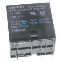 Relé 24VDC 15A-250VAC 2 contactos