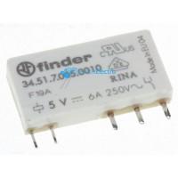 Relé 5VDC 6A-250VAC 1 contacto