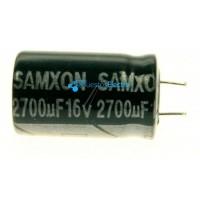 Condensador electrolítico radial 2700UF-16V