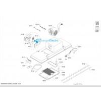 Filtro metálico para grasa para campana Siemens