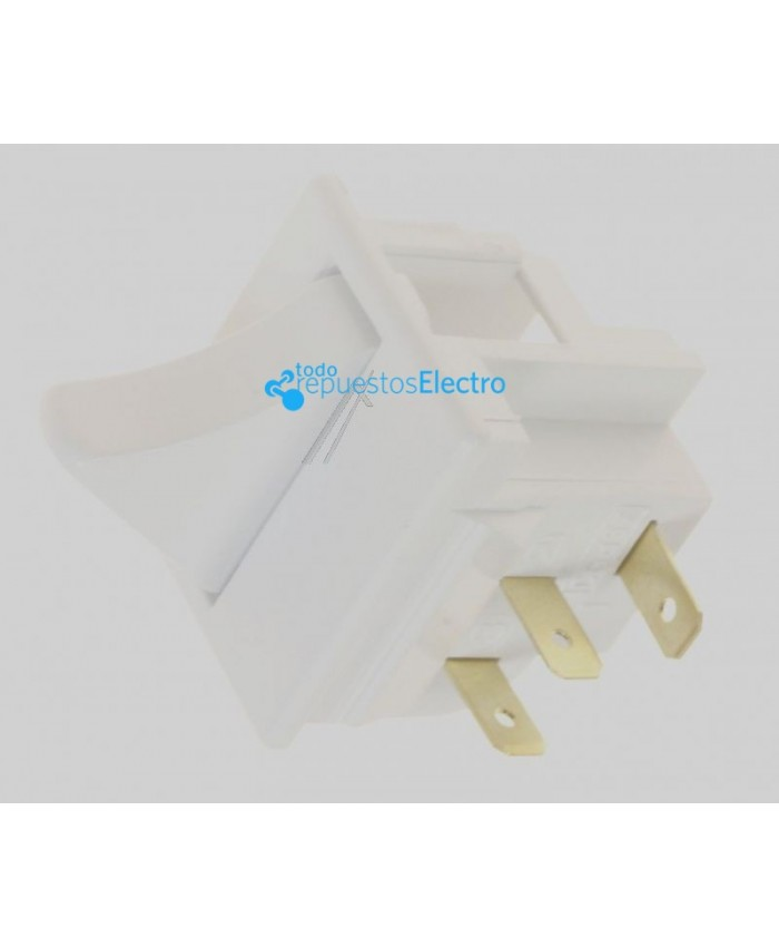Interruptor de luz frigorífico para Beko, Ansonic, Altus, Arcelik, Blomberg, Bru, Ecron, Grundig, Saivod, Smeg, Teka