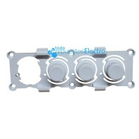 Botonera triple lavadora Rommer, Eurotech, Fairline
