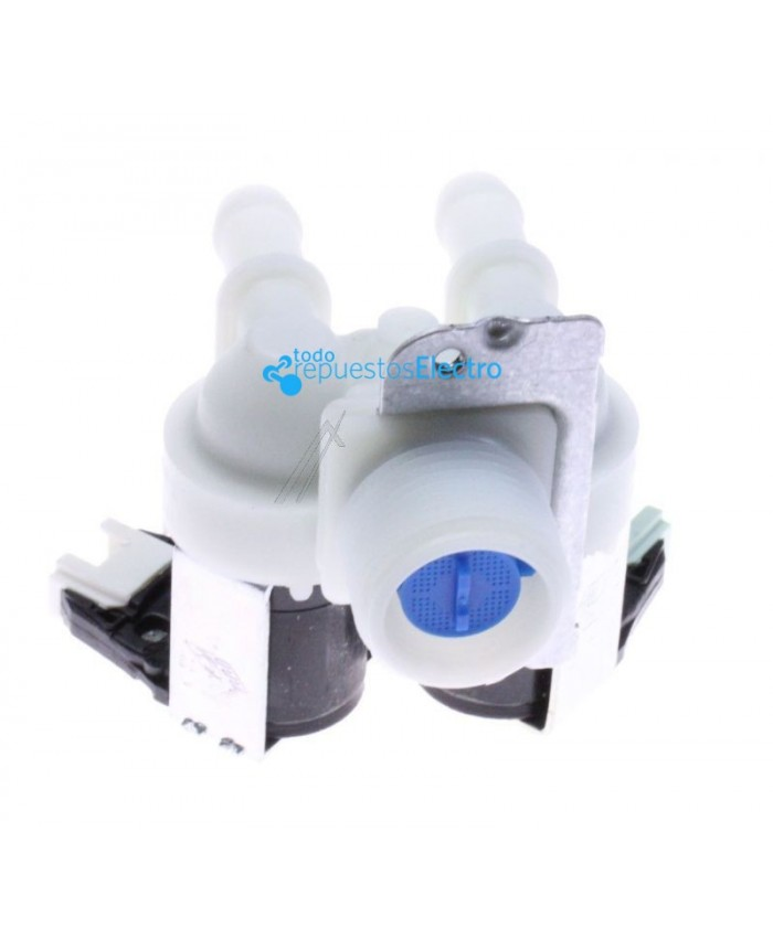 Electroválvula para lavadora Whirlpool, Bauknecht, Ignis