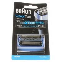 Cabezal y cuchilla máquina afeitar Braun