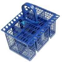 Cesto azul de cubiertos para lavavajillas Ariston, Indesit