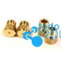 Conjunto inyectores para gas natural métrica 6