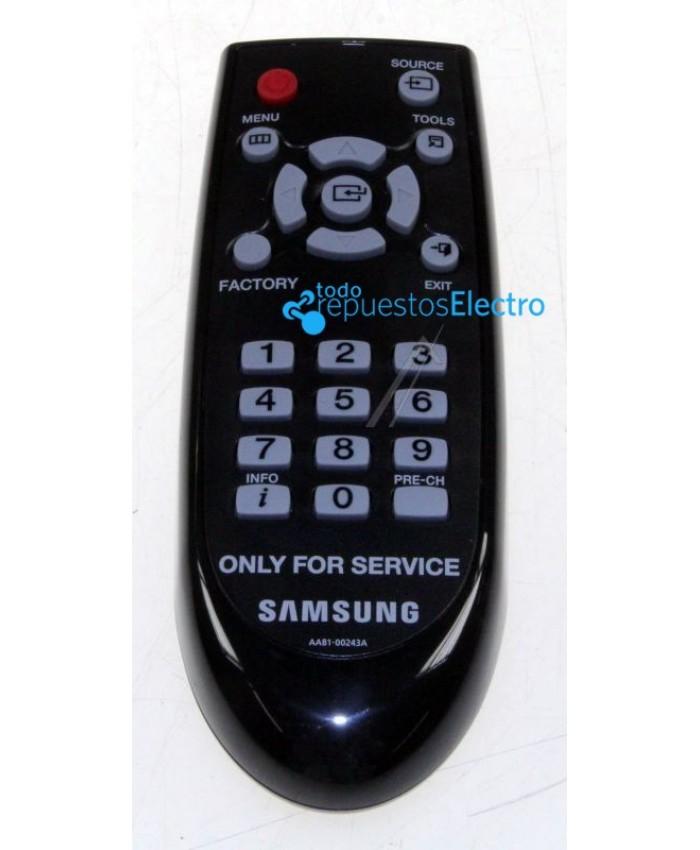Mando a distancia de servicio televisior Samsung