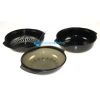 Bandeja de cocción a vapor especial microondas