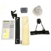 Conjunto de accesorios para limpia cristales a vapor Karcher