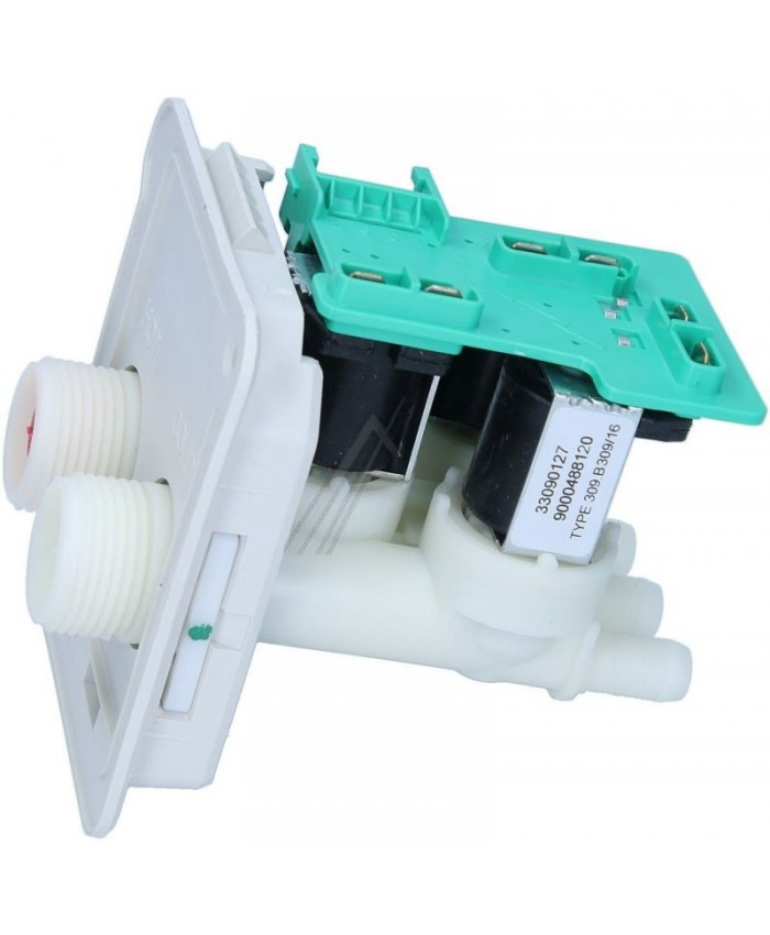 Electroválvula de 3 vías para lavadora Balay, Bosch