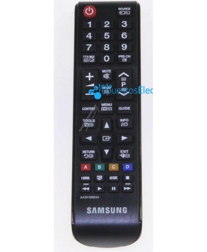 Mando a distancia de 44 teclas para televisiones Samsung AA59-00603A