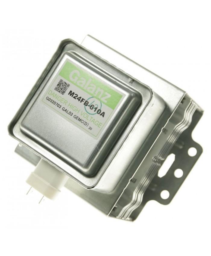 Magnetrón M24FB-610A Galanz para microondas Whirlpool, Qilive, Gorenje, Brandt, Delonghi, Candy