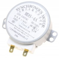 Motor MDS4A para microondas Beko, Brandt,  Candy, Far, Gorenje, Panasonic, Qilive, Sharp