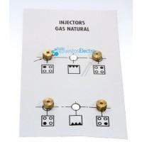 Inyectores para cocina de gas natural G20-10