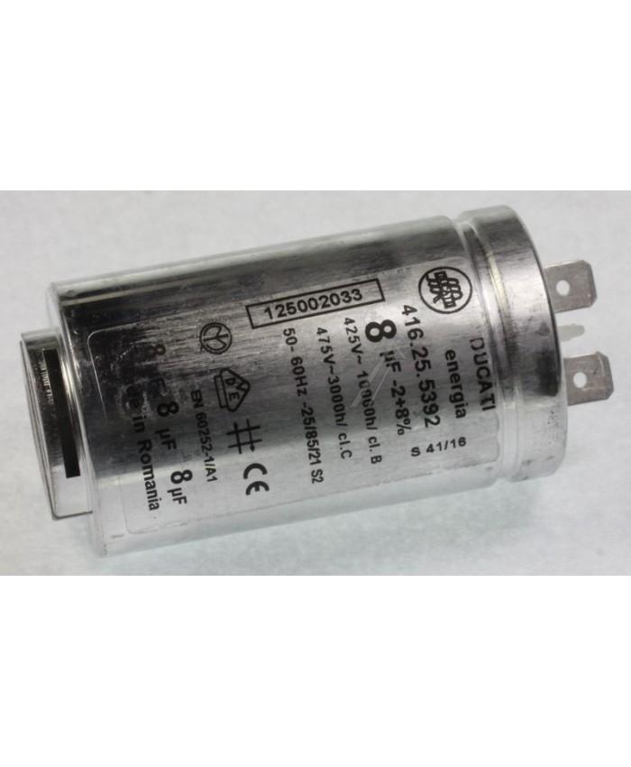 Condensador de arranque para secadora Zanussi, AEG, Electrolux