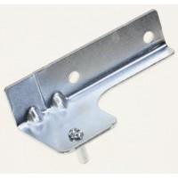 Bisagra superior para puerta de frigorífico Whirlpool, Fagor, Ignis, Ikea, Smeg