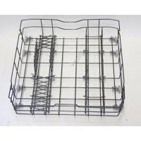 Cesta inferior gris para lavavajillas Whirlpool, Bauknecht, Ignis, Ikea