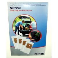 Bolsas x4 para aspiradoras Nilfisk