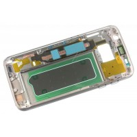 Carcasa intermedia para móvil Samsung Galaxy S7 color Dorado