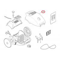 Tapa superior de aspiradora Balay, Bosch, Siemens