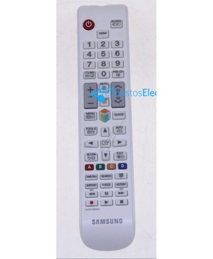 Mando a distancia blanco de 49 botones para las televisiones Samsung AA59-00560A