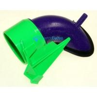 Manguera Cyclon para aspiradora Dyson DC08 Verde