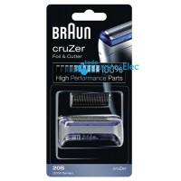 Cabezal afeitadora Braun Cruzer