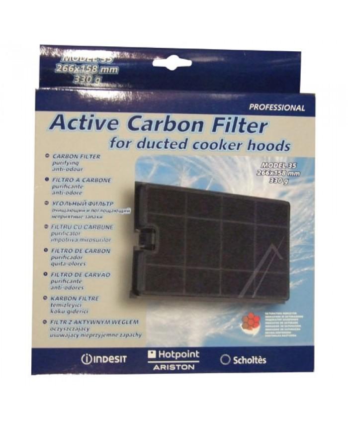 Filtro carb n activo campana extractora indesit ariston repuestos para electrodomesticos - Campana carbon activo ...