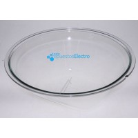 Ventana de cristal para puerta de lavadora Samsung