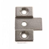 Soporte para bisagra de puerta panelable para lavadora Zanussi, Electrolux