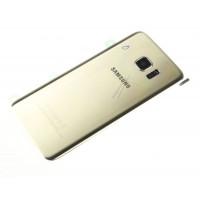 Tapa de la batería para móviles Samsung Galaxy S7 Edge. Color Dorado.