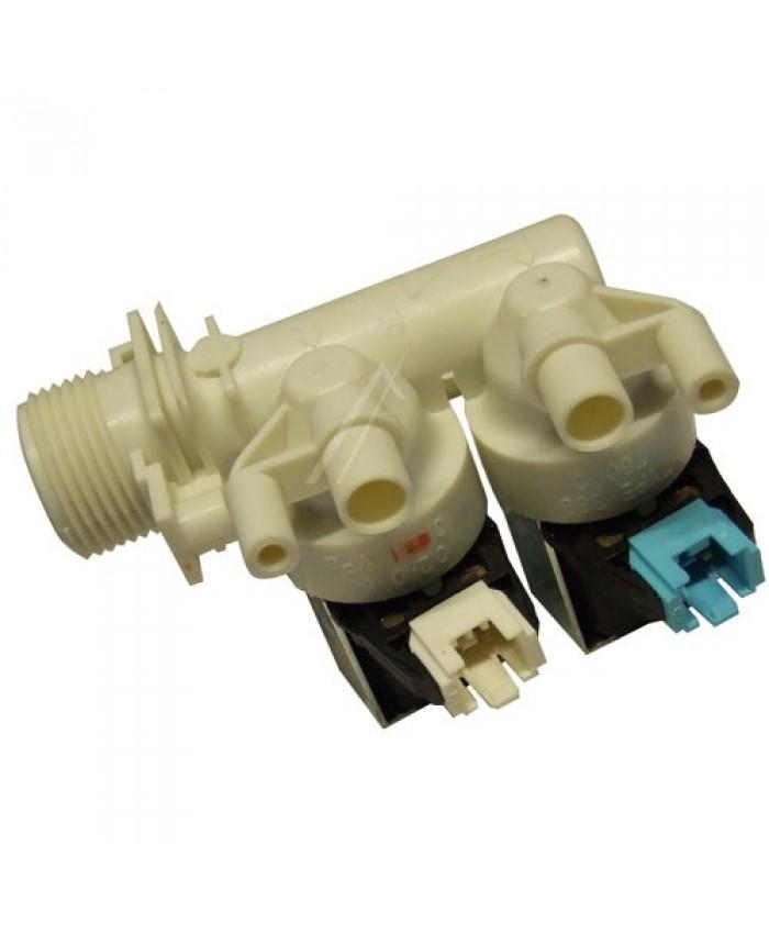 Electroválvula de 2 vías para lavadora Whirlpool, Indesit, Ariston, Ignis